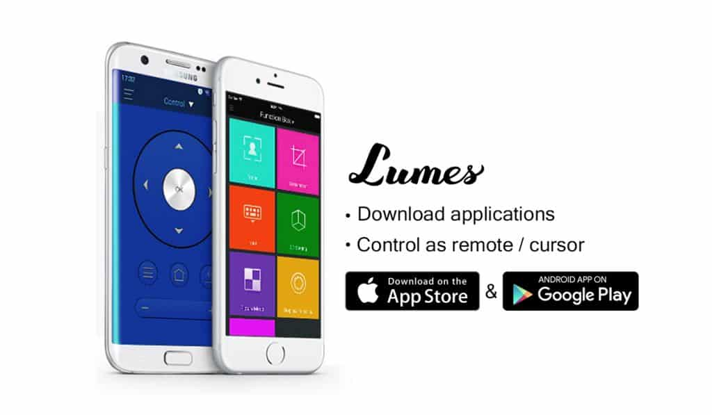Application mobile Lumes